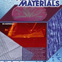 Solvent-induced Delamination of a Multifunctional Two Dimensional Coordination Polymer
